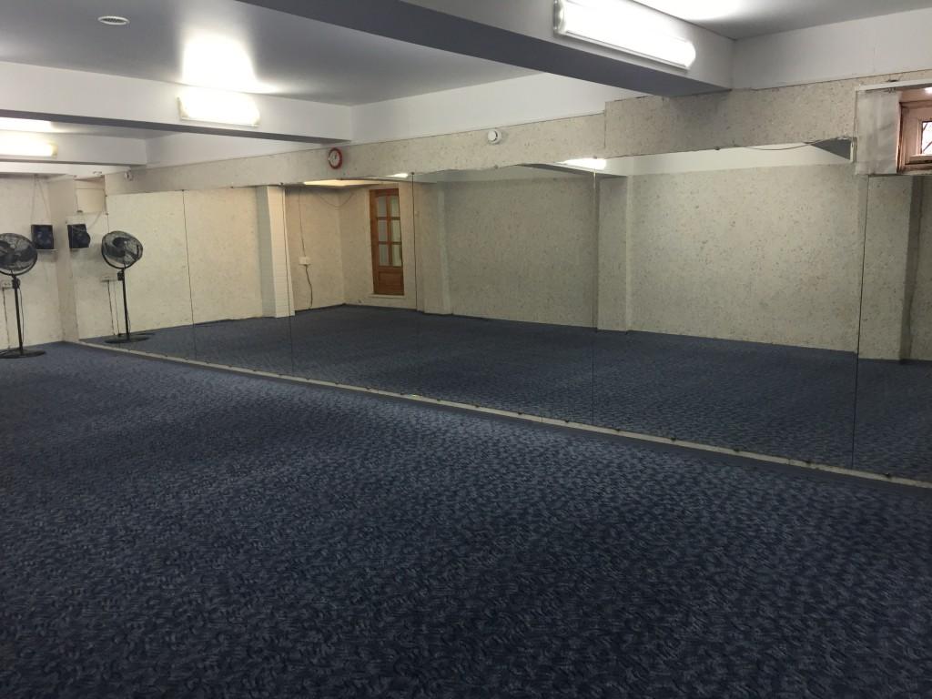 Аэробный зал ( синий )